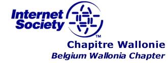 Chapitre Wallonie de l'Internet Society - ISOC Belgium-Wallonia Chapter